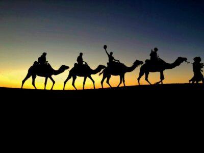 Crepuscolo Nel Deserto