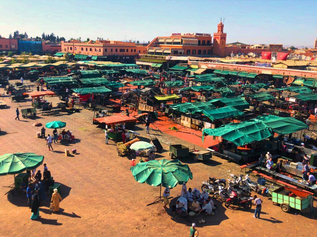 Piazza Jemea-El-Fna