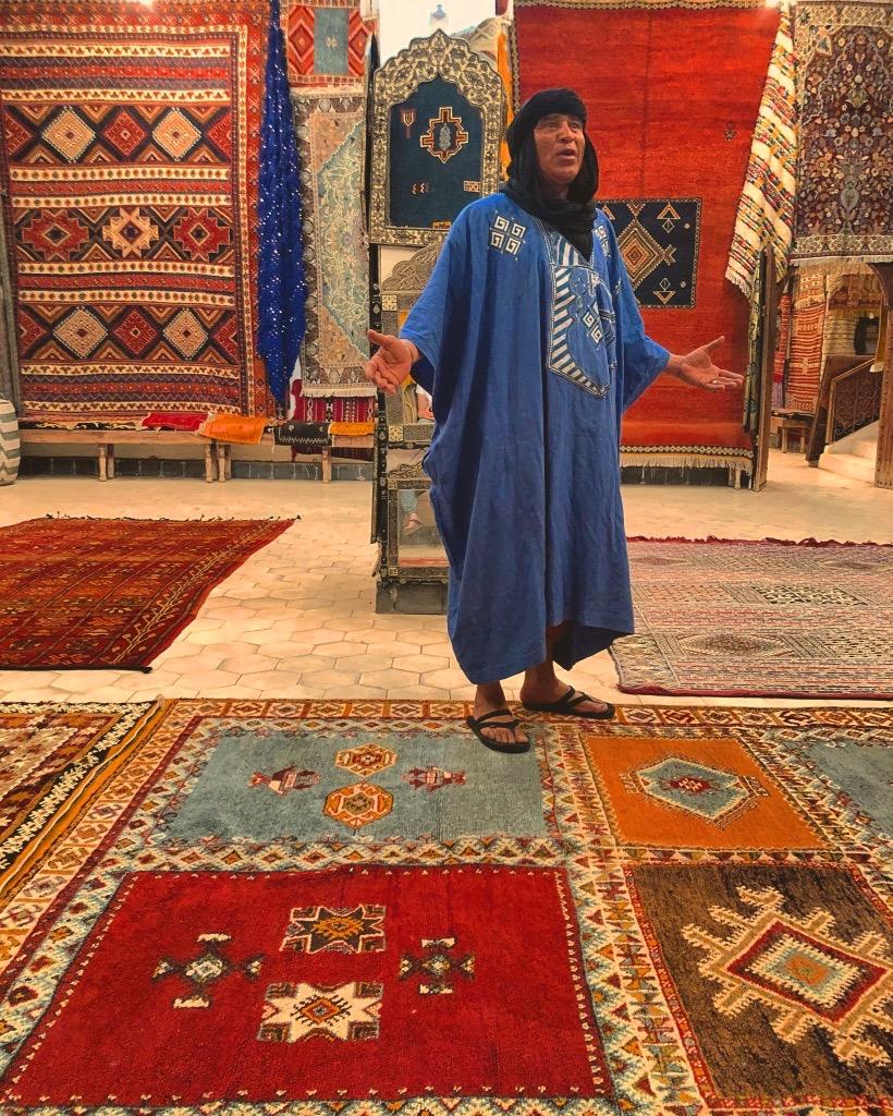 Mercanti, tappeti Berberi