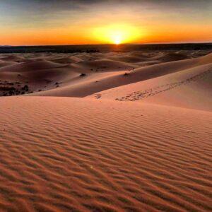 Sahara Sunset Deser