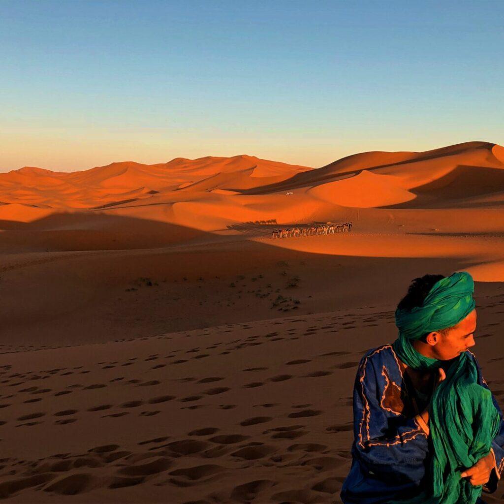 Tuareg desert