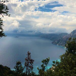 Sentiero Degli Dei Landscape