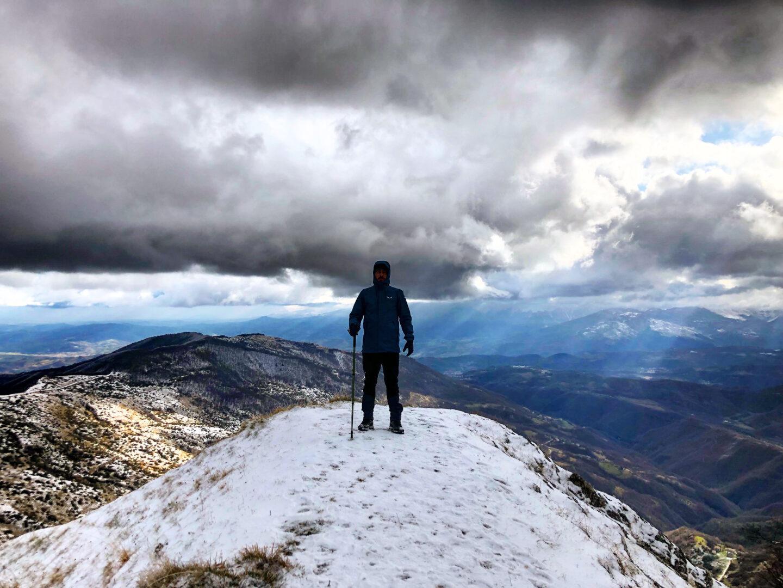 Monte Farina, vetta