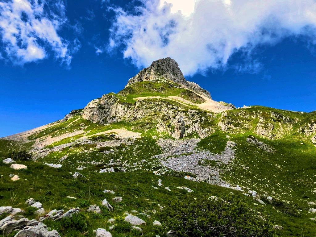 Monte Meta dalla Valle Pagana