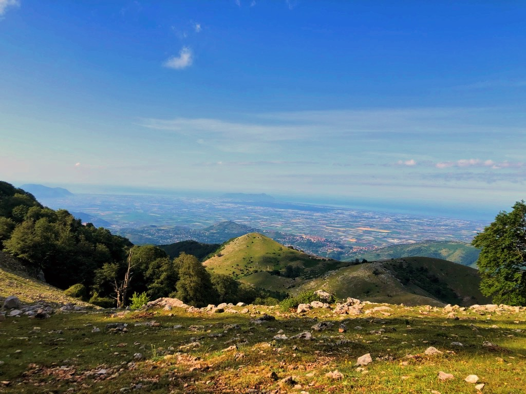 Punto panoramico, Monte Semprevisa