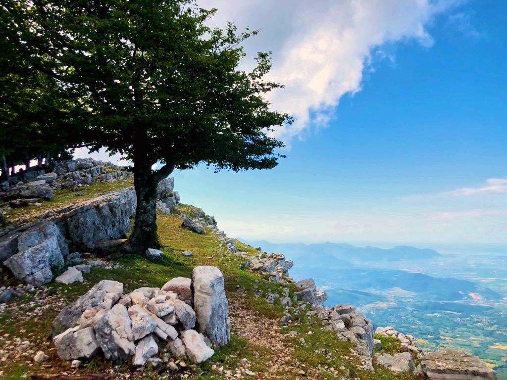 Verso la cima, Monte Semprevisa