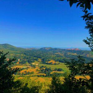 Vista Dal Maschio D'Ariano