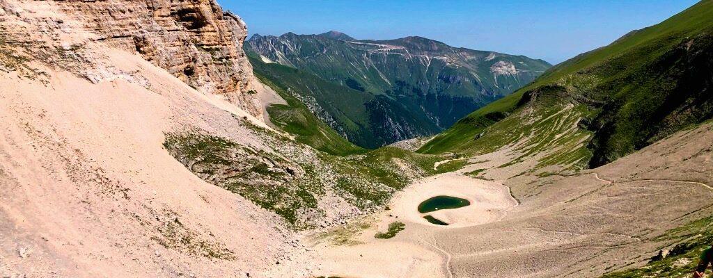 Monte Vettore E Lago Di Pilato