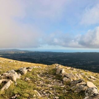 Dal Monte Calvo Al Mar Adriatico