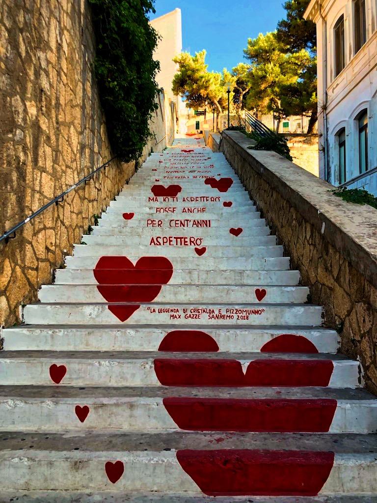 Scala dell'amore Vieste
