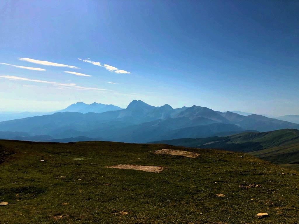 Il Gran Sasso dal Monte Gorzano