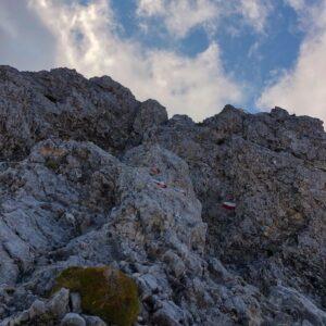 Pareti Di Roccia Cresta N