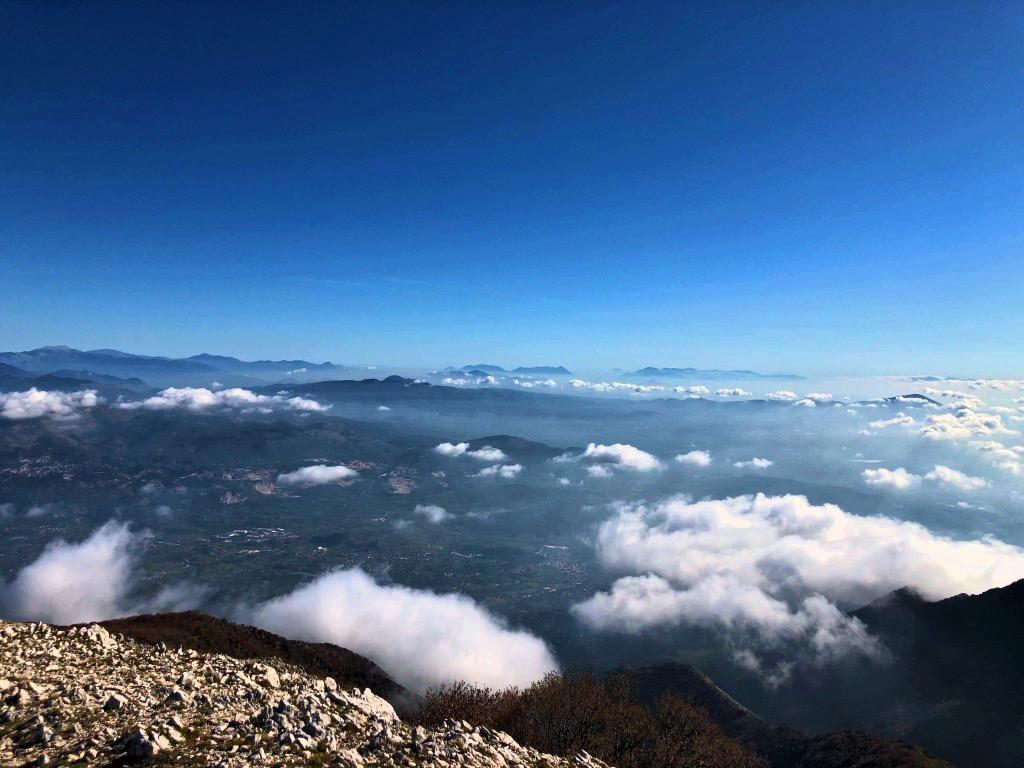 Dalla cima del Monte Petrella