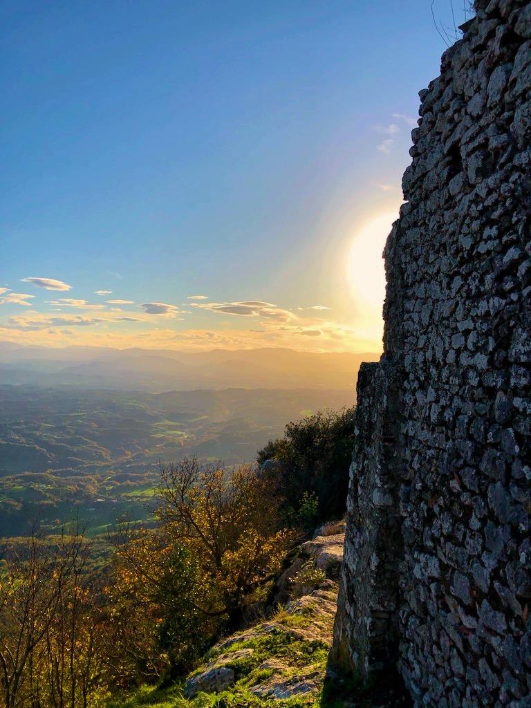 Dalla cima del Soratte