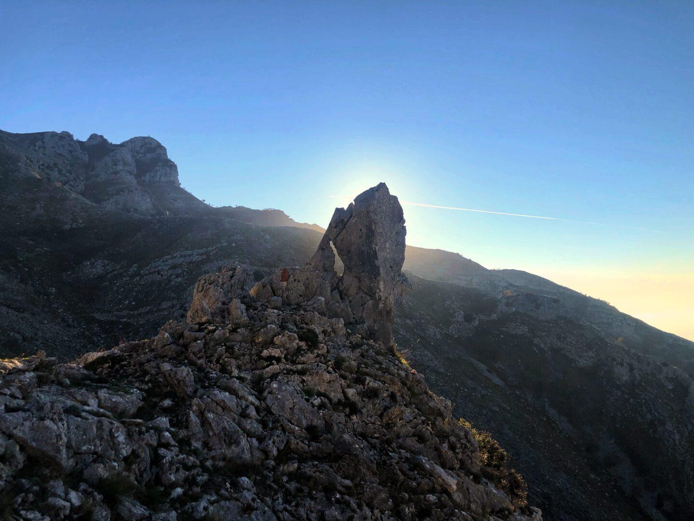 l'inizio del Sentiero per il Monte Petrella