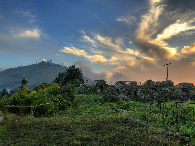 Monte Cavo dalla Fortezza
