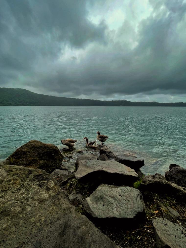 Scorci del Lago Albano