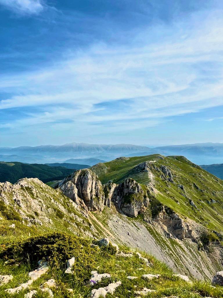 Dalla vetta del Monte Viglio
