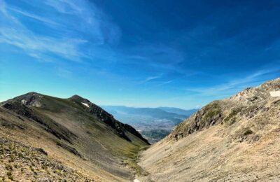Tra Il Monte Cafornia E Il Monte Velino