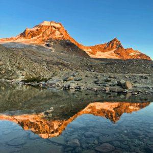 Le Montagne Che Si Specchiano