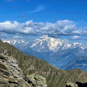 Monte Bianco Da Punta Pousset